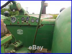 John Deere 820 Antique Tractor NO RESERVE 4672 Original Hours farmall 0liver a b