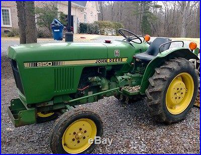 John Deere 850 Tractor Diesel 22 HP 8 Speed 2 WD