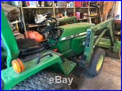 John Deere 855 4x4 Tractor, Model 70 Loader Tractor With 3 Point Hitch 24 HP