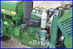 John Deere 950 diesel tractor nice original tractor