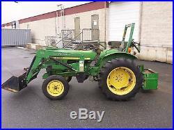 John Deere 950 tractor Koyker loader