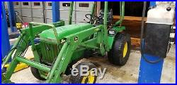 John Deere 955 4X4 Tractor with Only 560 Hours
