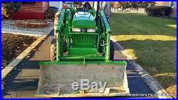John Deere 970 Tractor 440 Loader, 4WD 33HP Yanmar Diesel SUPER NICE