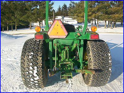 John Deere 970 Tractor NO RESERVE Loader MFWD New Clutch Live PTO Three Point