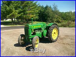 John Deere BR Antique tractor NO RESERVE Vintage A B G H D M R Farmall Oliver