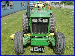 John Deere Diesel Tractor 4-Wheel Drive Mower Deck LOW HOURS