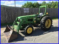John Deere JD 1050 Compact Tractor, Loader, 4x4, Turbo Diesel