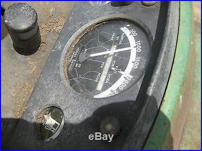 John Deere Model 4020 With Synchromesh transmission (one owner) 1967 model