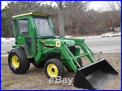 John Deere Model 955 Tractor with Loader