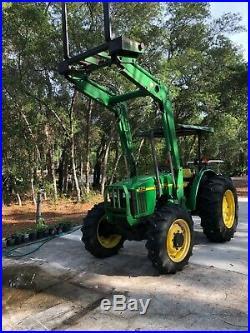 John Deere Tractor 5310 with Loader
