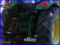 John Deere Tractor 6415, 108 Horsepower, 4wd