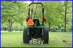 John Deere, utility tractor, tractor, loader, 2032R