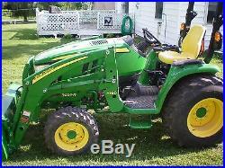 John deere 3039 r compact tractor