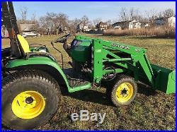 John deere 4210 compact tractor loader backhoe yanmar diesel