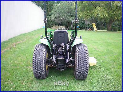 John deere 4300 compact tractor