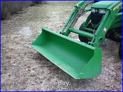 John deere 4710 with 400 loader 4x4
