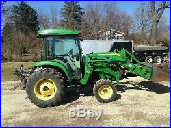 John deere 4720 cab tractor/loader