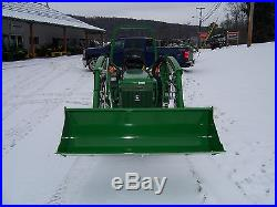 John deere compact 4wd 855 tractor