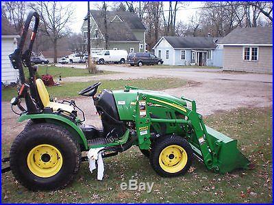 John deere tractor 2520 compact tractor / loader / mower