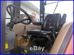 KIOTI DK 65 4 WHEEL DRIVE CAB LOADER TRACTOR