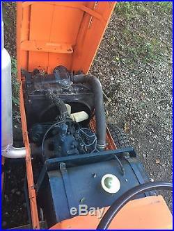 KUBOTA 19HP DIESEL TRACTOR New Tires, New Brakes, Mower Deck, One Owner