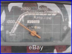 KUBOTA B1750 4 WHEEL DRIVE LOADER TRACTOR