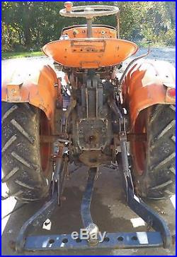 Kubota B6000 Compact Tractor 4wd Front Electric Pto 44 MID Mount Mower Diesel