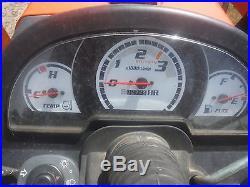 KUBOTA BACKHOE, 4X4, HYDROSTATIC DRIVE, 272 HOURS