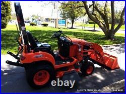 KUBOTA BX1860 Tractor LA203 Loader Kubota DIESEL 48 Mower Deck 4WD 212 Hours