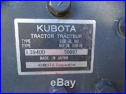 KUBOTA GRAND L 3940D