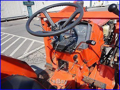 KUBOTA L3250D MFWD TRACTOR LOADER DIESEL Backhoe skid steer NO Reserve