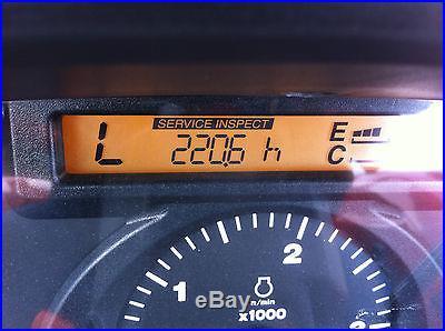 KUBOTA L4240 4WD TRACTOR LOADER BACKHOE 220.6 HOURS LIKE BRAND NEW