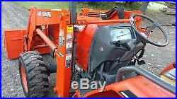 Kubota L48 Tractor Loader Backhoe 4x4 Hst Very Nice! In Pa! We Ship Nationwide