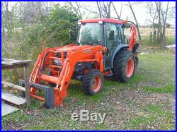 KUBOTA L5030HSTC 4X4 Compact tractor LA853 LOADER & DELUXE CAB
