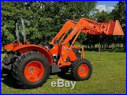 KUBOTA M5040 4x4 loader tractor. FREE DELIVERY