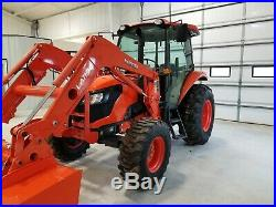 KUBOTA M7060 4x4 loader tractor. FREE DELIVERY