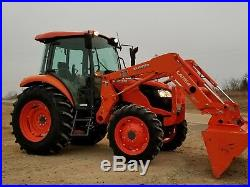 KUBOTA M7060 4x4 loader tractor. LOW HOURS! FREE DELIVERY
