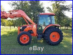 KUBOTA m8540 4x4 loader tractor. FREE DELIVERY
