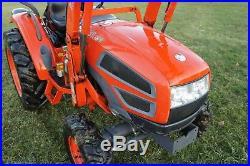 Kioti CK30 HST 4x4 loader compact farm tractor NO RESERVE