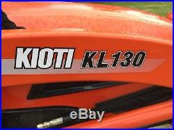 Kioti Ck35 Compact Tractor With Backhoe
