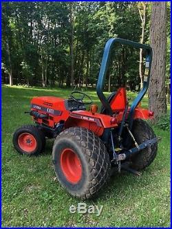 Kioti LB 3054 4 Wheel Drive 30 HP Diesel Tractor