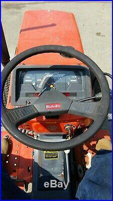 Kubota B1750HSD 4WD HST Tractor