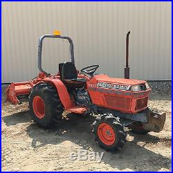 Kubota B2150 4WD HST Tractor 4x4 Diesel With Kubota FL1271R C Tiller