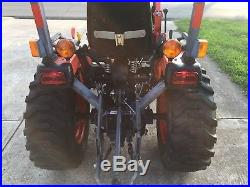 Kubota B2320 Compact Tractor With LA304 Loader Very Nice LOW HOURS! Hydrostat