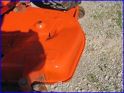 Kubota B2400HST 890 Hours Belly Mower 4x4 Power Steering