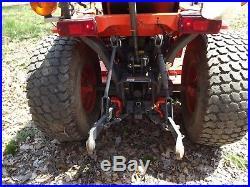 Kubota B2410 Diesel Compact Tractor Mower