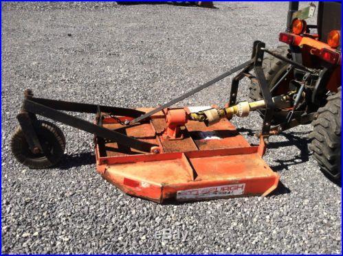 Kubota B2410 Hydro Compact Tractor W/ 48 Mower