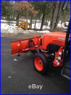 Kubota B2650 CAB Tractor 40 Hours