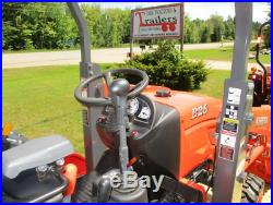 Kubota B26 Tractor Loader Backhoe