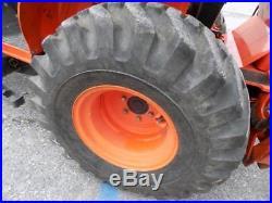 Kubota B26 Tractor WithKubota TL500 Skid Steer Loader Quick Attach & Backhoe, 4X4